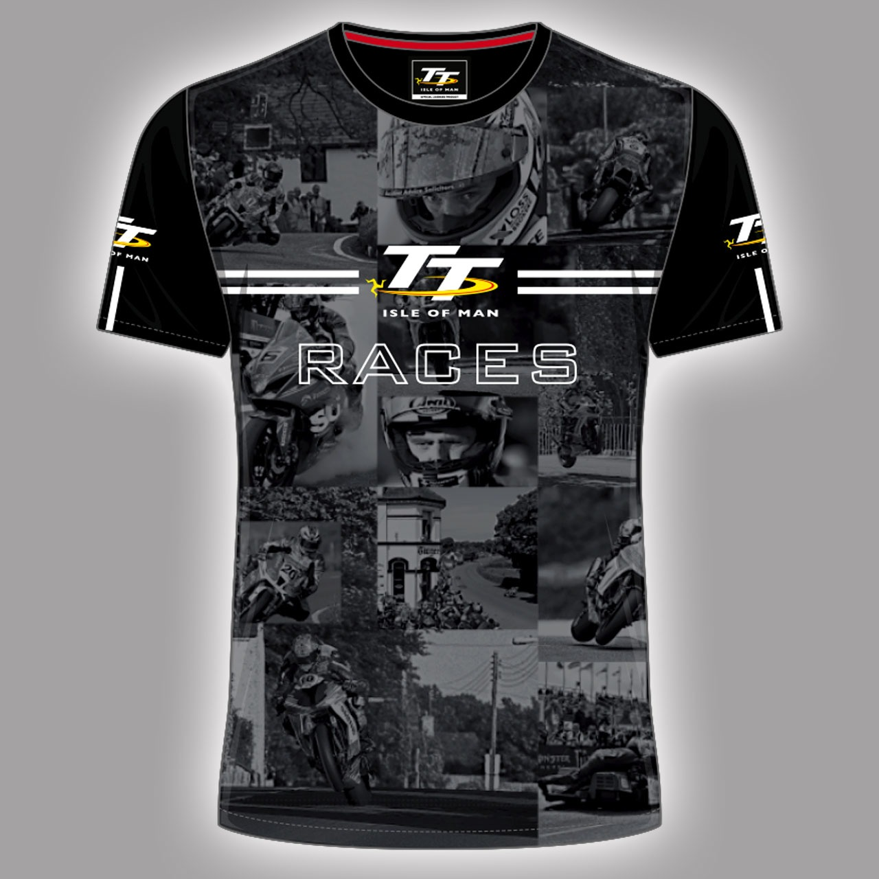 All over print t shirt with bike motif 18aop5 deluxe for Soft custom t shirts