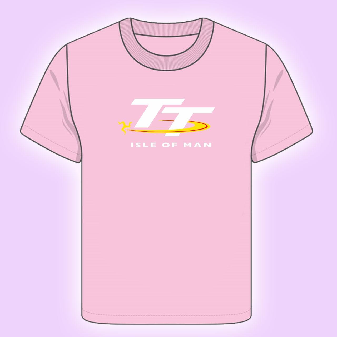 3b83105d8 KIDS TT LOGO PINK T-SHIRT 18ZKTS4 | T-SHIRTS - KIDS | TT Shirts | Manx  Shirts