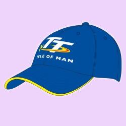 Black TT CAP 19ABC1 Official Isle of Man  TT Cap