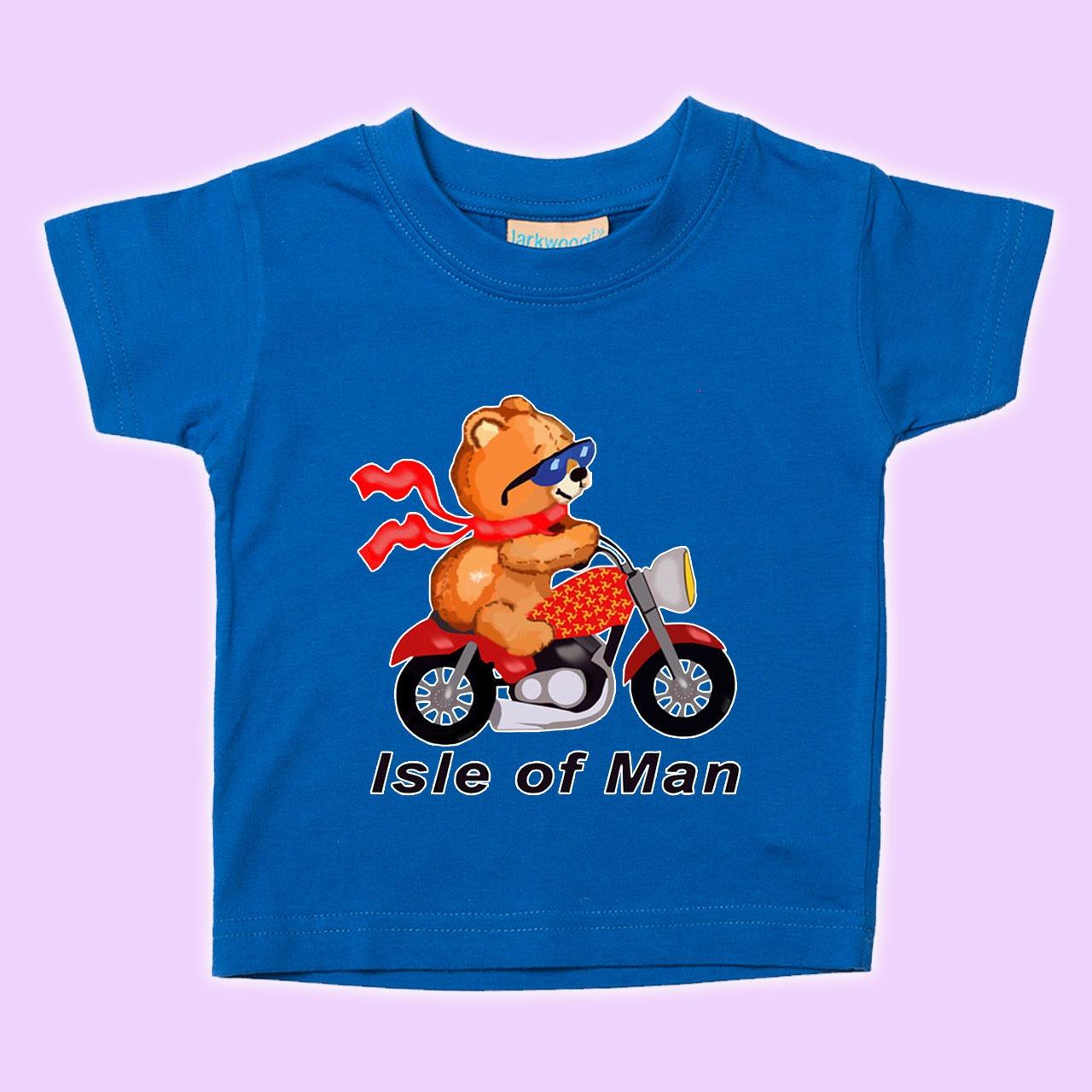 d718904f5790 TEDDY BIKE-BABY T-SHIRT MBT 585 | BABIES GARMENTS - BIBS - CAPS - TOYS | TT  Shirts | Manx Shirts