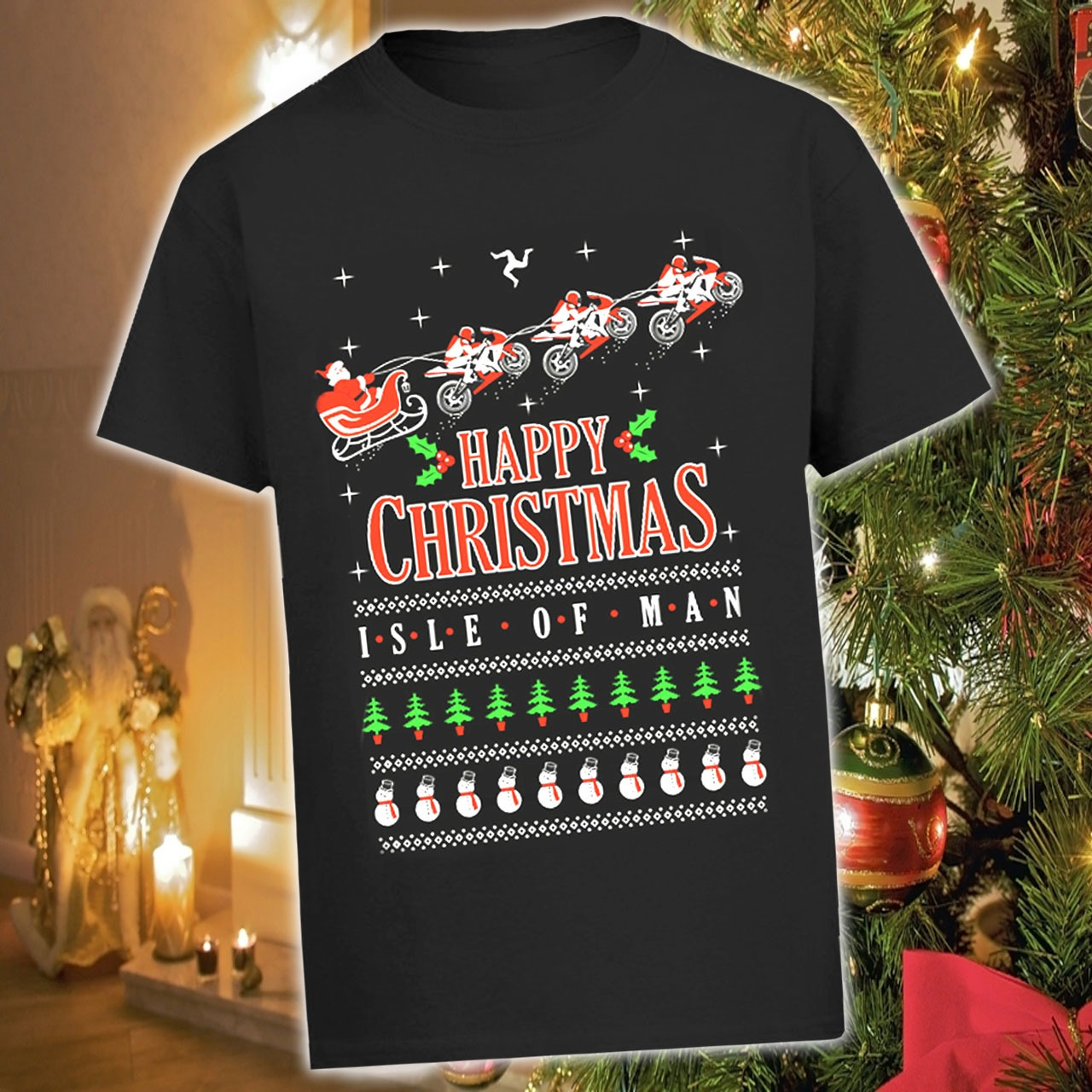 Black xmas t shirt - Black Christmas T Shirt Xmas Ats1