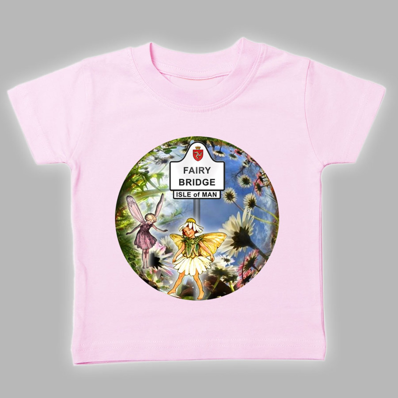 Manx fairy baby t shirt mbt 630 babies printed t for T shirt printing for babies