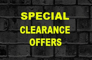 CLEARANCE & SPECIAL OFFERS